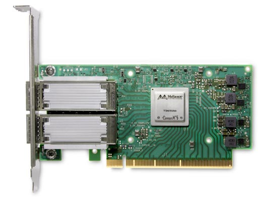 adapter mellanox connectx zoostock