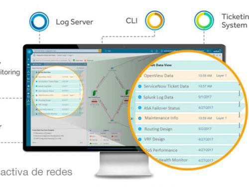 NetBrain: automatización activa de redes